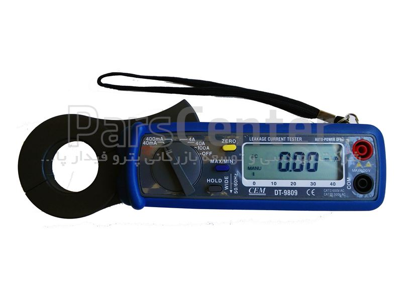 CEM- کلمپ میلی آمپر کمپانی DT-9809، AC Leakage Current Tester