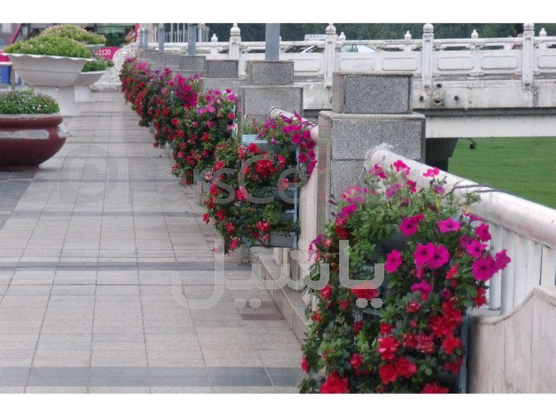 گلدان نرده ای طبقاتی ABS