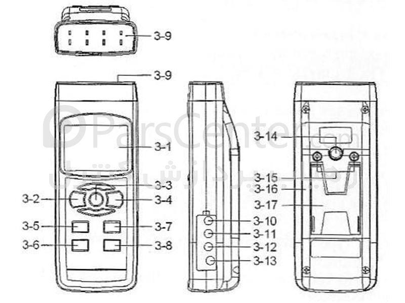 ترمودیتالاگر4 کاناله  مدل لوترون TM-946