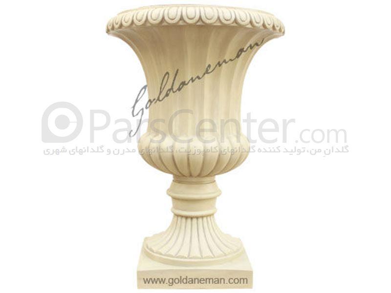 گلدان کلاسیک طرح سنگ/ کد C562