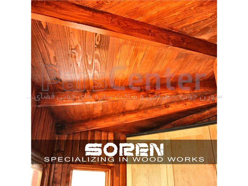 طراحی و ساخت اکستنشن چوبی آشپزخانه