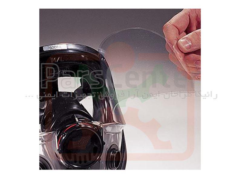 ماسک ایمنی تمام صورت دو فیلتر و تک فیلتر  North مدل 5400