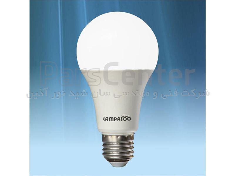 لامپ LED حبابی 9 وات - با خرید هر 10 عد لامپ LED یک عدد هدیه بگیرید.