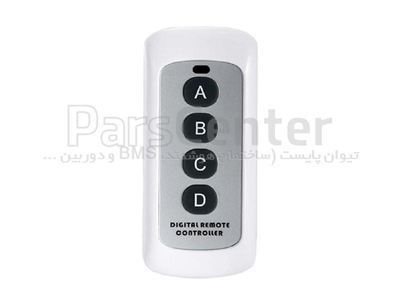 کلید هوشمند لمسی RF ریموت دار یک پل سفید