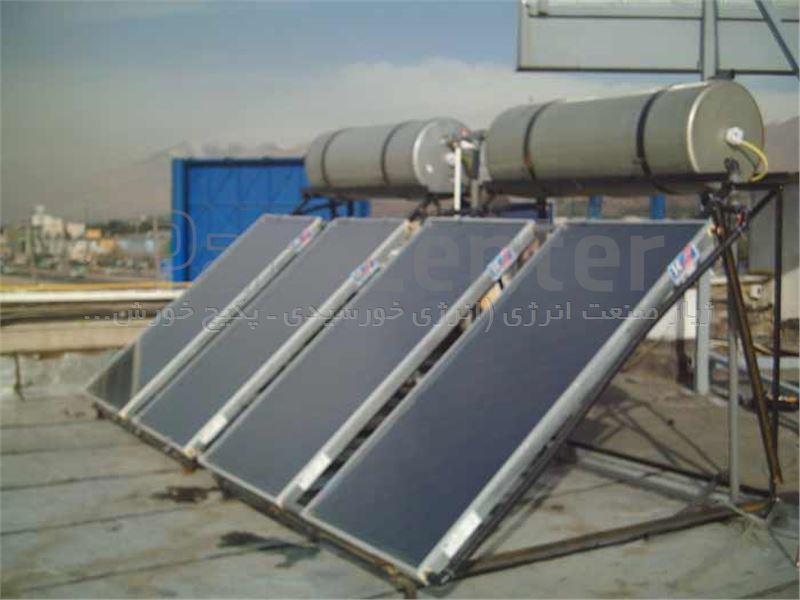 آبگرمکن خورشیدی با حجم مخزن ۲۵۰ لیتر