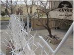 نمونه کار حفاظ شاخ گوزنی خیابان مسیل منوچهری 1