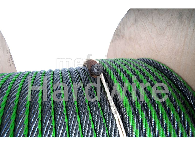 Steel wire rope with IWRC Gustav wolf