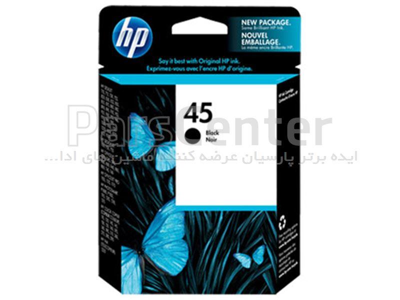 کارتریج جوهر مشکی HP (5164AE) 45BK