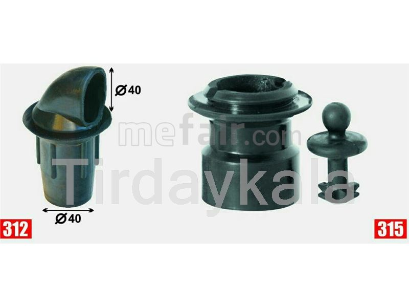 Junctions and connectors for milking machine