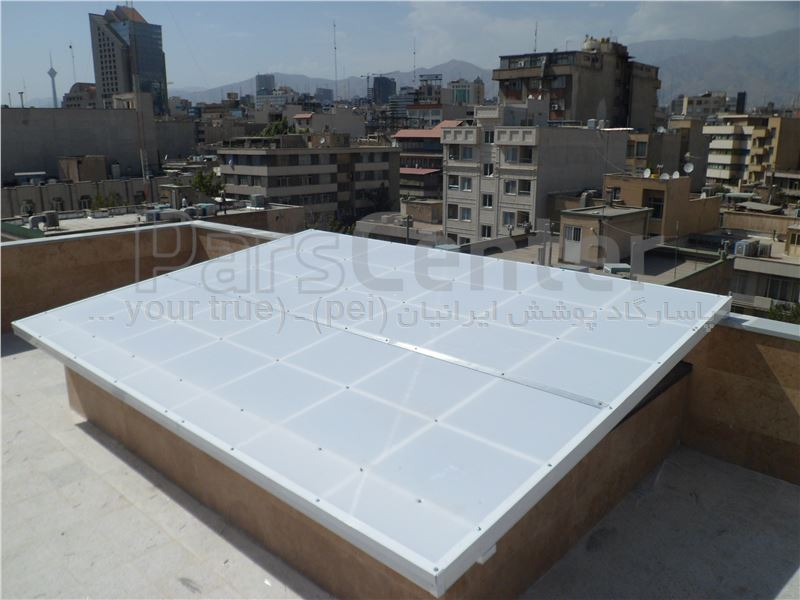 Building skylight _ نورگیر سقف منزل مسکونی _ تهران - کریمخان