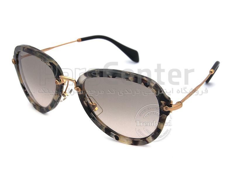 شرکت ساخت عینک آفتابی در ایران عینک آفتابی MIU MIU میو میو مدل 03Q رنگ 3H2 - محصولات عینک ...