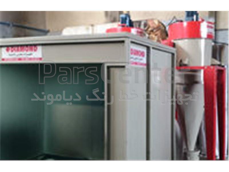 سایکلون بازیافت رنگ-مونو سایکلون آماده تحویل-کوره باکسی،کابین پاشش ،آبشار رنگ ،دستگاه پاشش