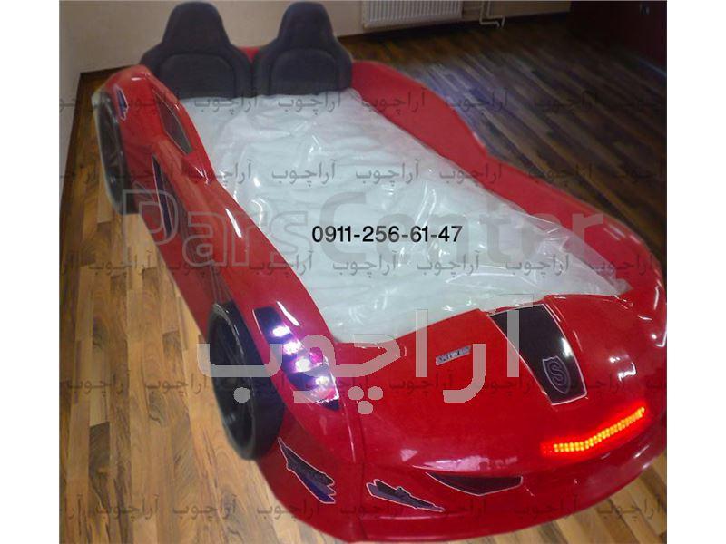 تخت خواب ماشینی مدل بوگاتی