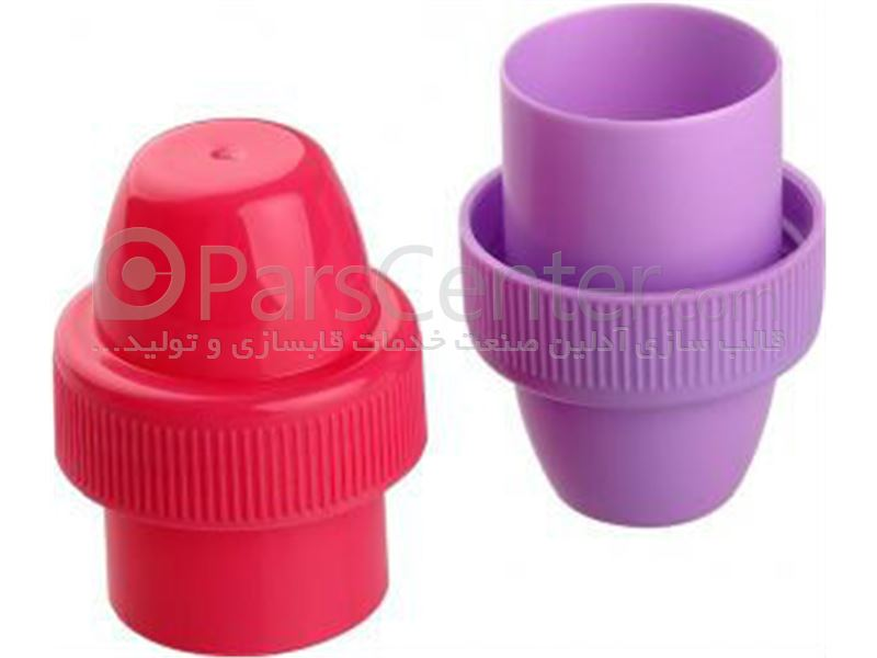ساخت قالب تزریق پلاستیک انواع درب و درپوش پلاستیکی