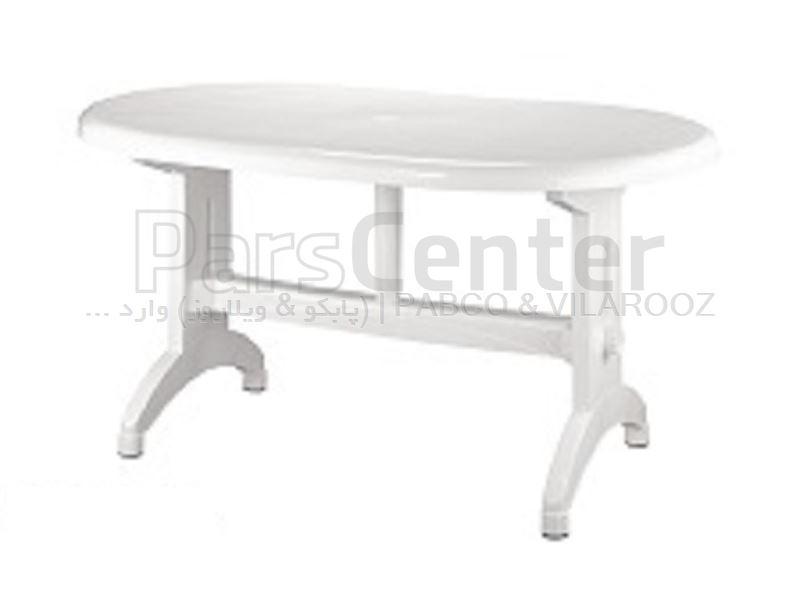 میز تمام پلاستیکی کد 925. 73×68×110 سانت