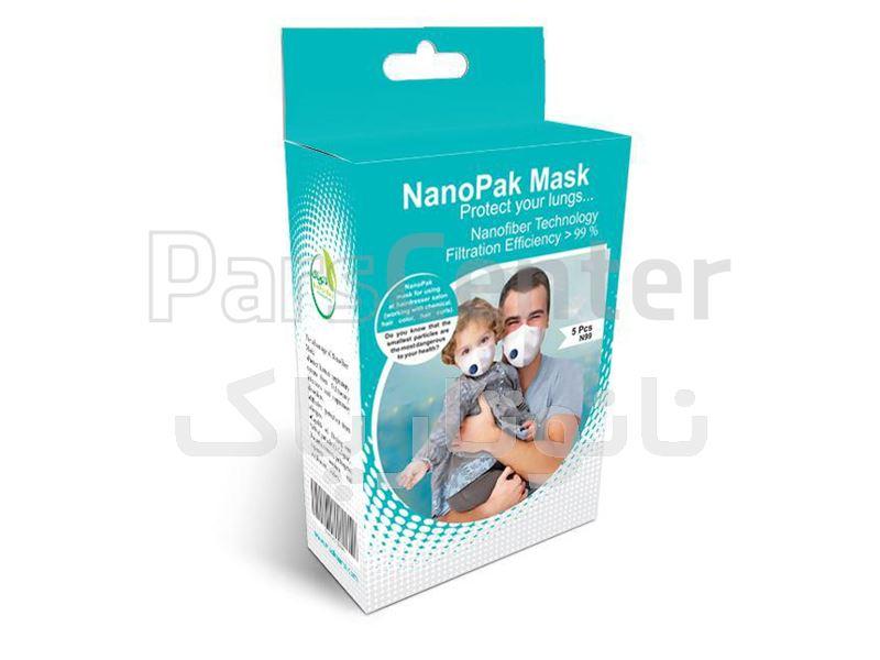 ماسک نانو الیاف مدل NTP312 نانو پاک برای آودگی هوا