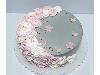 کیک خامه ای طرح عروس