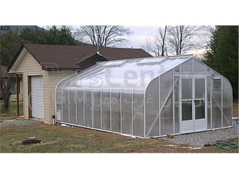 گلخانه با پوشش پلی کربنات