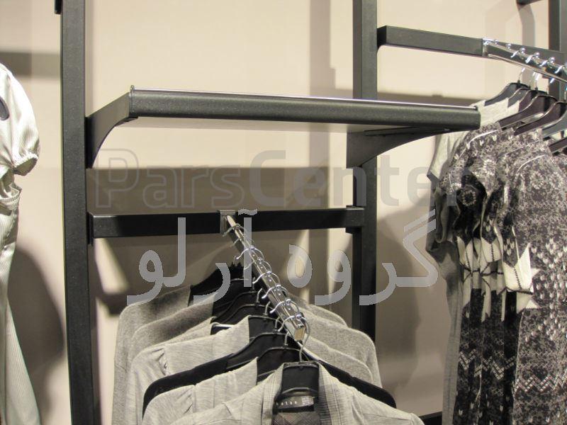 قفسه پوشاک،رگال لباس-قفسه بندی بوتیک 3