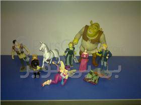 شخصیت های   عصر یخبندان ice age , و ست کارتون اسکوبیدو scoobydoo و شخصیت های شرک