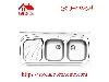 سینک ظرفشویی روکار کد 270 استیل البرز