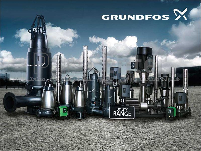 پمپهای سانتریفیوژ گراندفوس GRUNDFOS پمپ سری CR , CRI , CRN  , TP , NB , NBG , CM, CME , UPS , Unilift