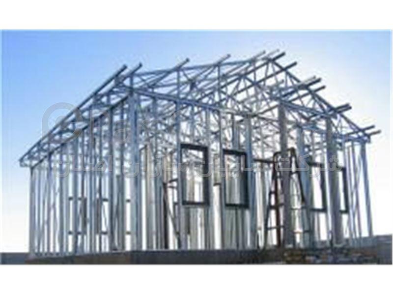 سازه های سبک فولادی سردنورد شده LSF - محصولات سازه های پیش ساخته ...سازه های سبک فولادی سردنورد شده LSF ...
