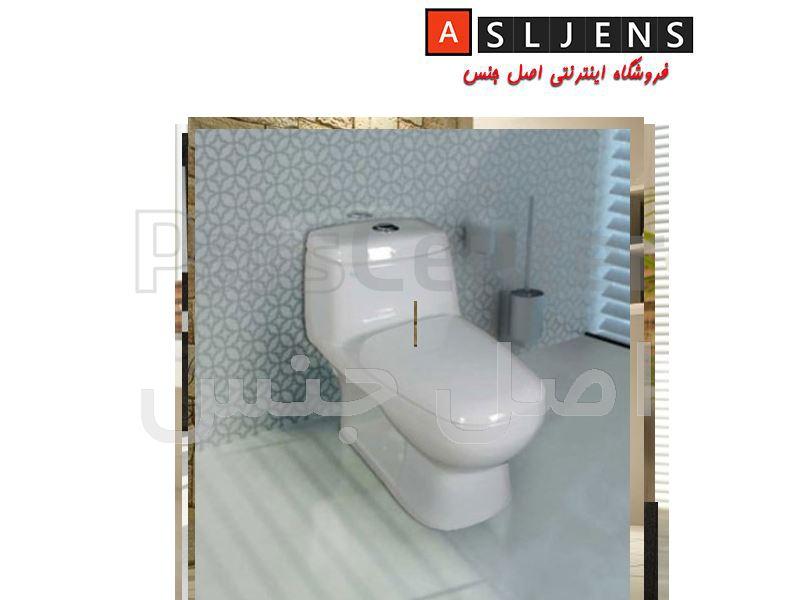 توالت فرنگی مدل پارمیس  گلسار