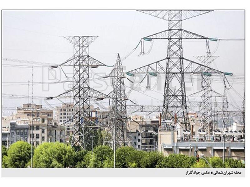 محلههایی در شمال غرب تهران که زیر دکلهای برق شکل گرفتهاند. 18 تیر 1397