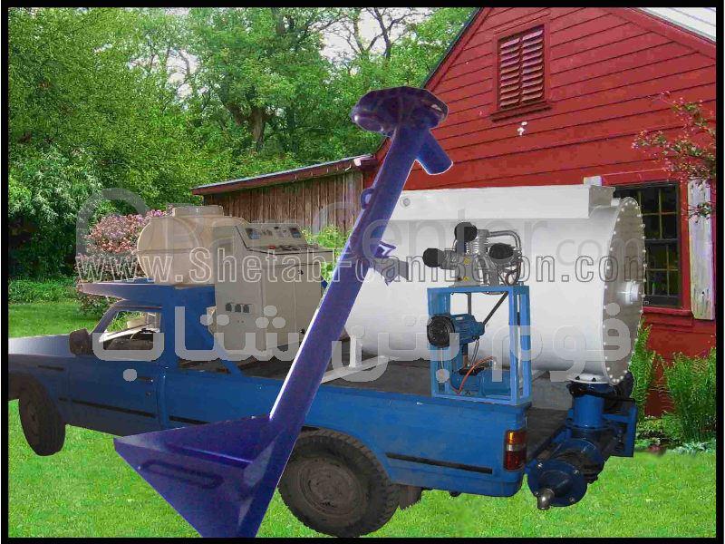 دستگاه فوم بتن نیسانی - محصولات ماشین آلات تولید مرتبط با عمران ...دستگاه فوم بتن نیسانی ...