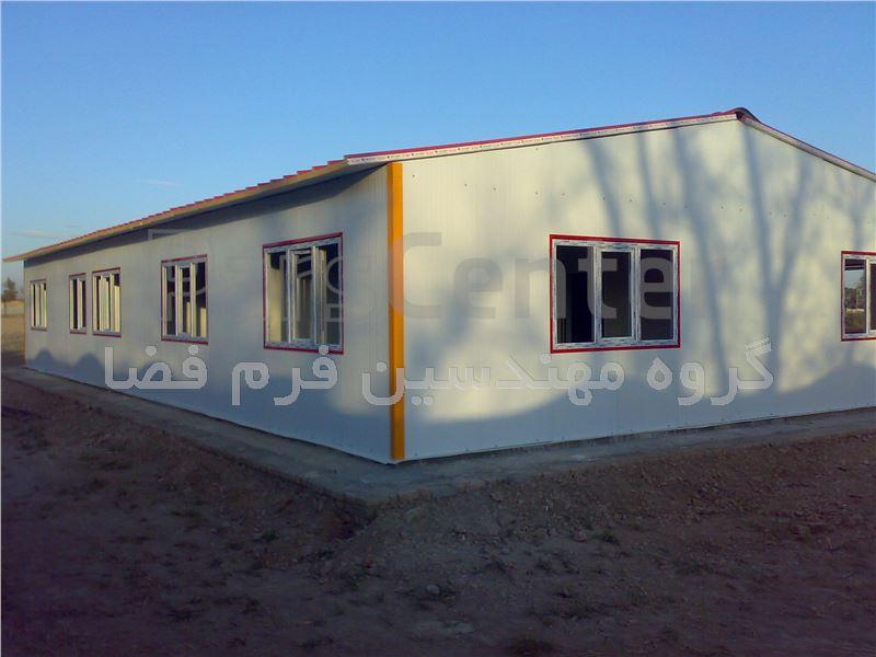 خانه های پیش ساخته پانلی مدولار