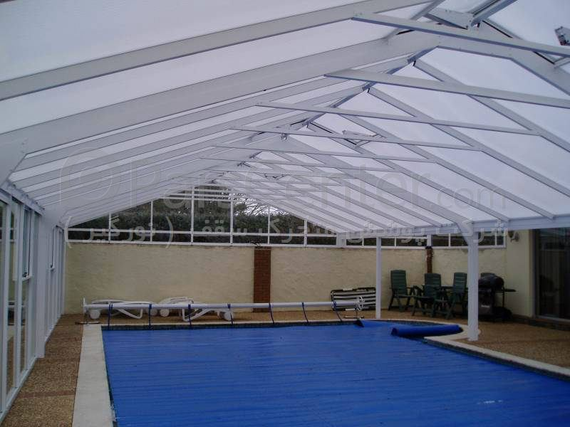 پوشش سقف استخر ثابت سقف المپیکی