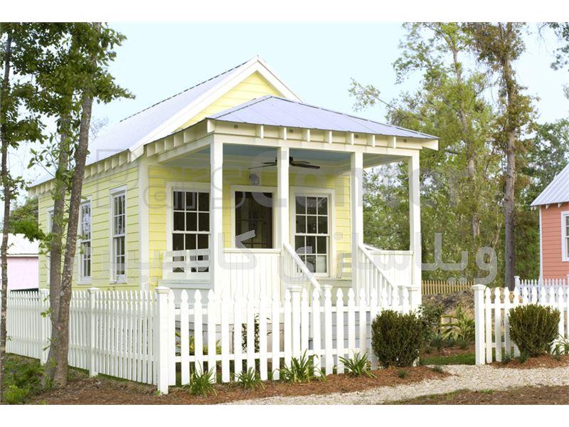 خانه باغ و ویلای بتنی  بدون نیاز به جوازساخت