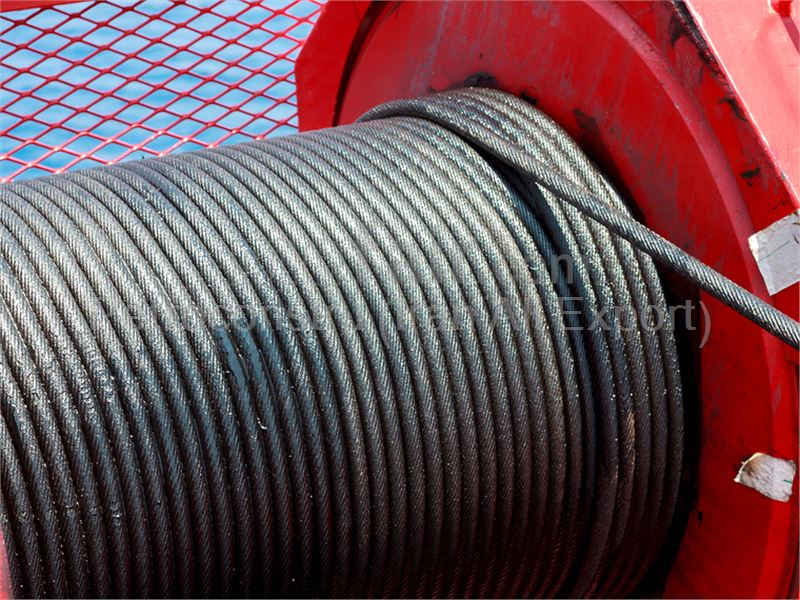excavating wire rope