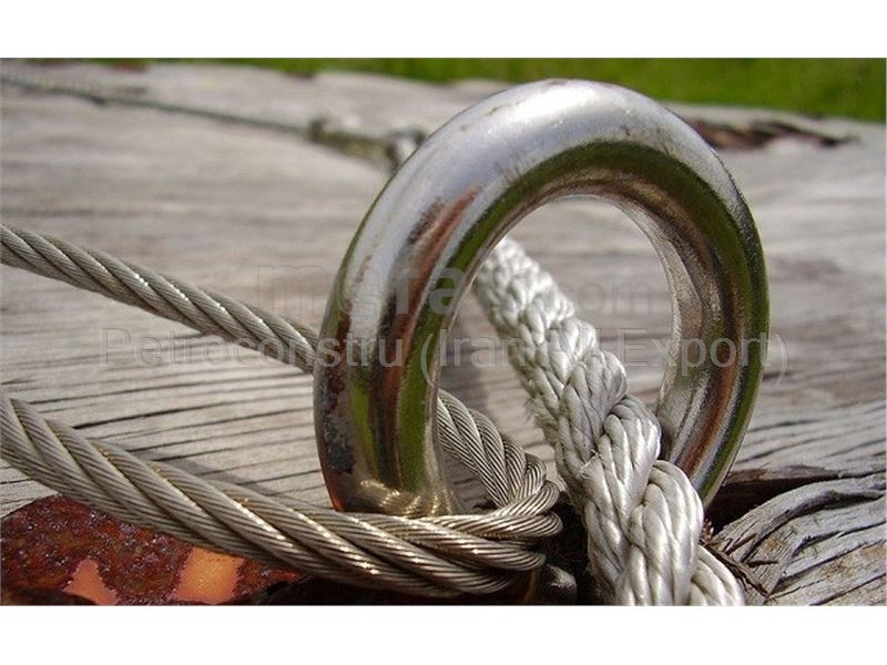 Stair case wire rope