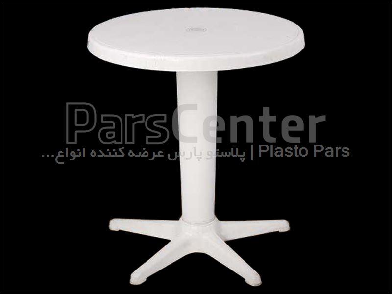 میز پلاستیکی گرد 2 تا 3 نفره قطر 60-کد101202