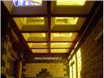 پوشش سقف با نورگیر حبابی(فلامک شمالی)