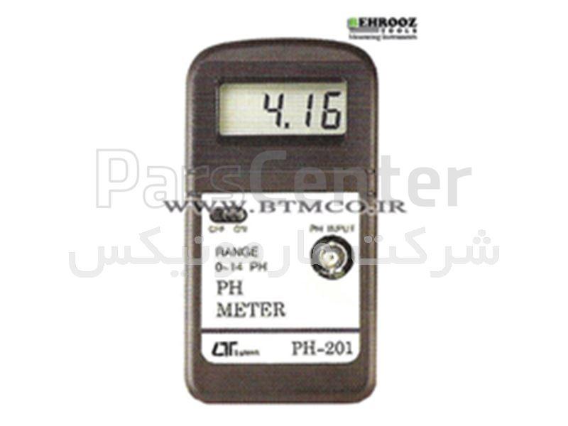 ph/oh متر ، اسید سنج لوترون PH-201