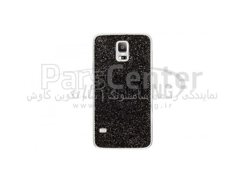 Samsung Swarovski Crystal Battery Cover Galaxy S5 Black کاور کریستالی مشکی گلکسی اس 5 سامسونگ