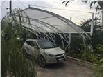 پوشش سقف پارکینگ با ورق پلی کربنات PS PK9