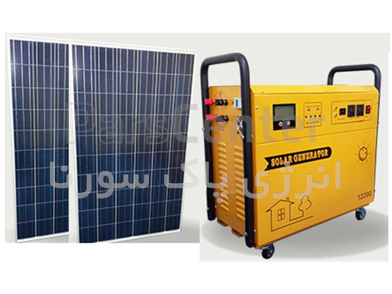 ژنراتور خورشیدی  مدل  12S200
