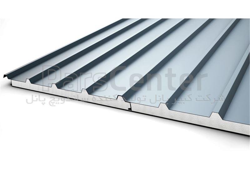 ساندویچ پانل سقفی دو رو آلومینیوم 5 سانت