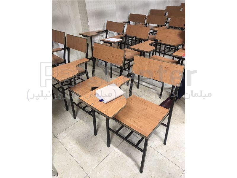 صندلی دانشجویی با دسته ام دی اف