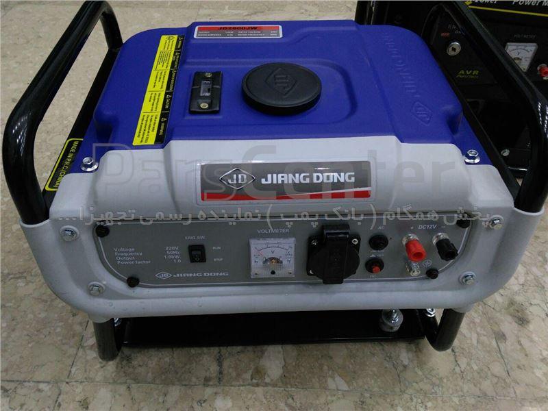 موتور برق 1Kw بنزینی با استارتی ( JIANGDONG ) ساخت چین JD 2800JW
