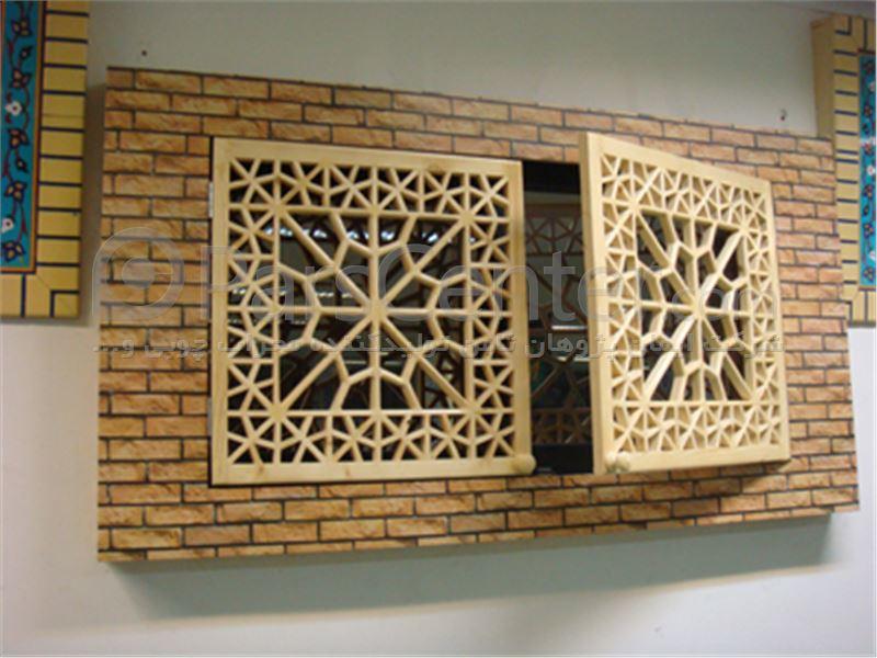 پوشش پنجره سنتی گره چینی