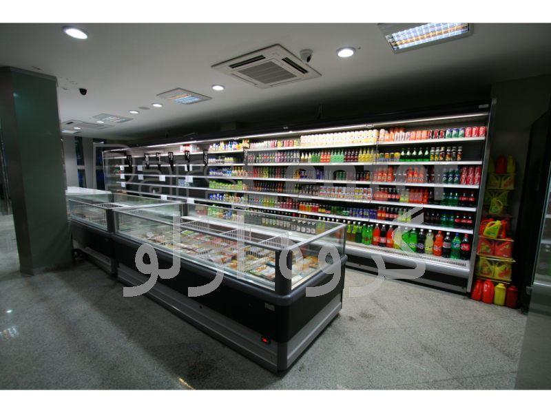 یخچال فروشگاهی، فریزر فروشگاهی، فروشگاه کبیر لاهیجان