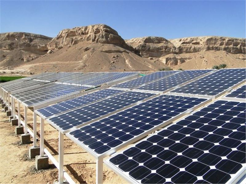 پمپ خورشیدی 177 متری روزکار