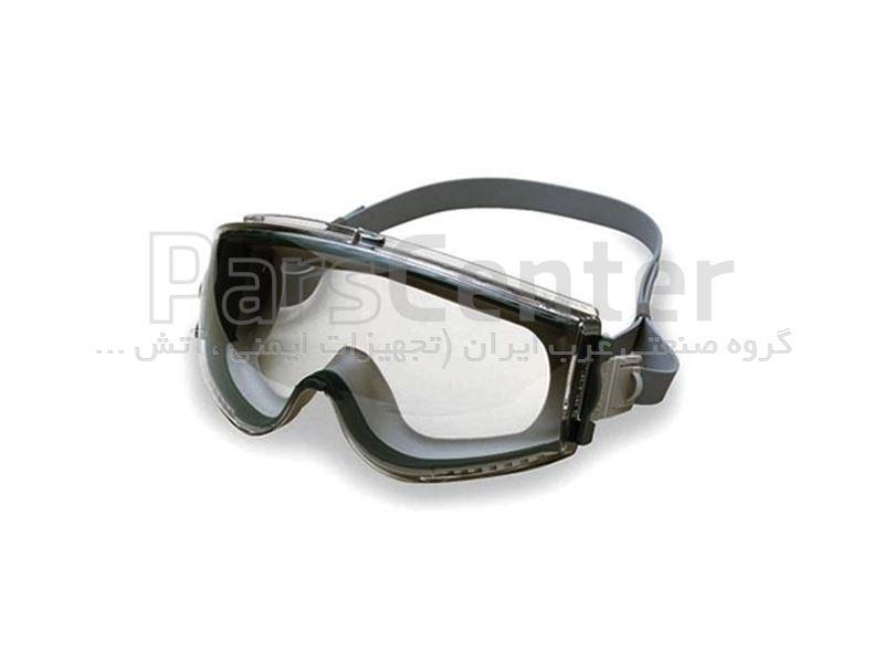 عینک ایمنی طلقی ضد گرد و غبار , ضد اسید و مواد شیمیایی , ضد بخار و ضد خش - کد S28