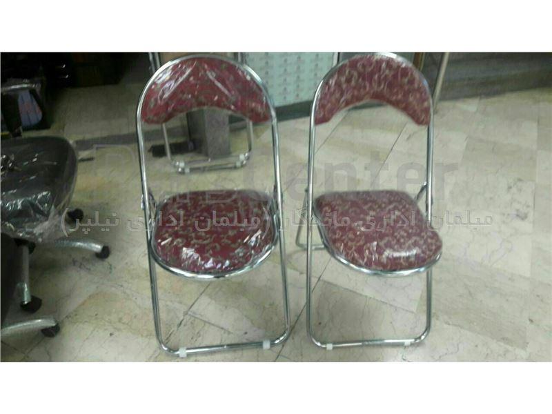 صندلی تاشو مدل  هلالی درجه یک