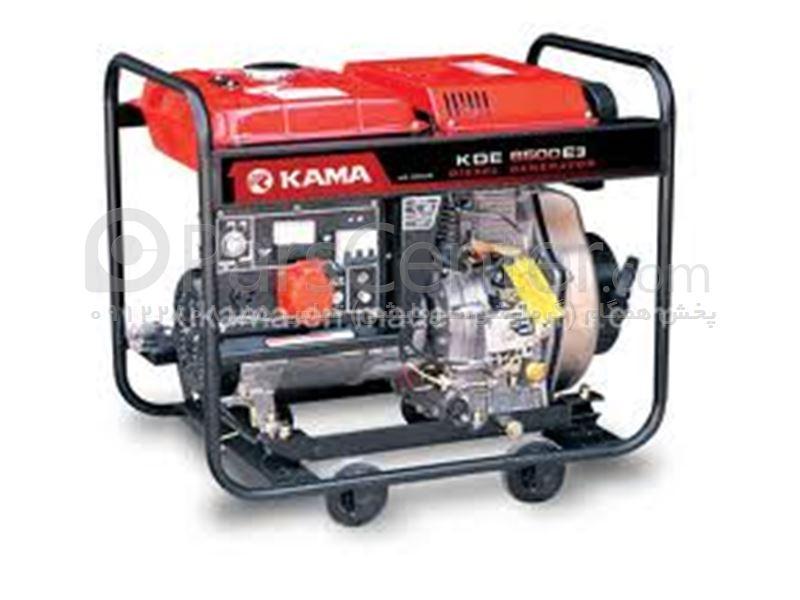 موتور برق 5.5Kw کاما دیزلی با استارت و باطری ( Kama ) ساخت چین